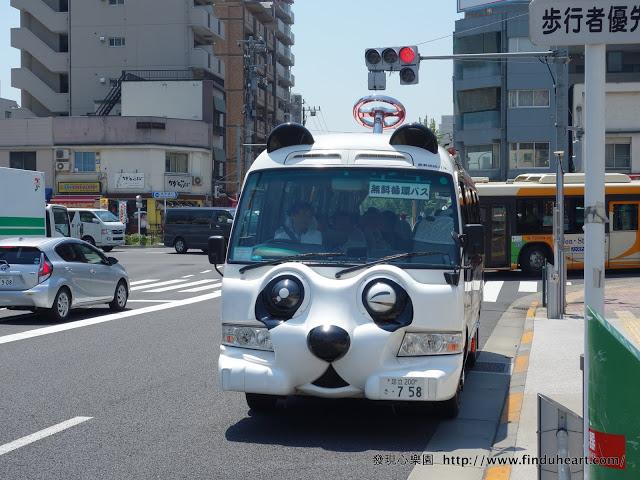 [心得] 日本免費的 PANDA BUS / 熊貓巴士(2017最新版)