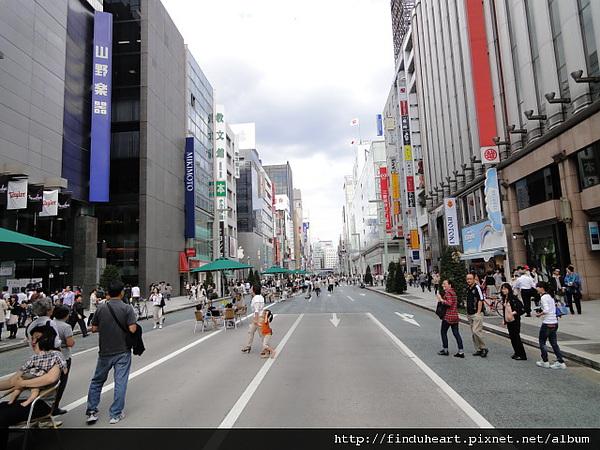 [遊記] 東京半日行程–銀座~原宿~竹下通